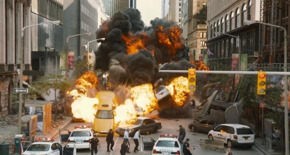 Explosão The Avengers