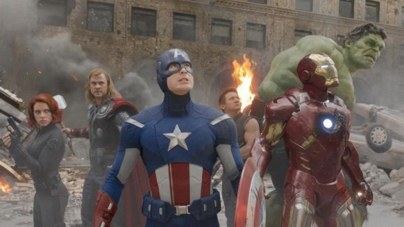Os Vingadores juntos