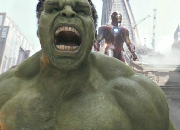 Hulk e Homem de Ferro The Avengers
