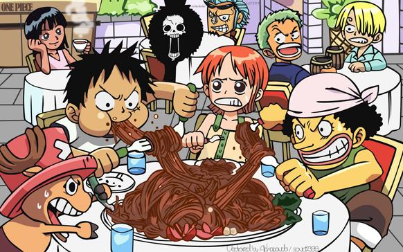 chibi One piece cute Anime Modo Meu