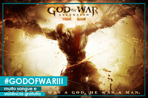 god of war III e Ascencion no Modo Meu