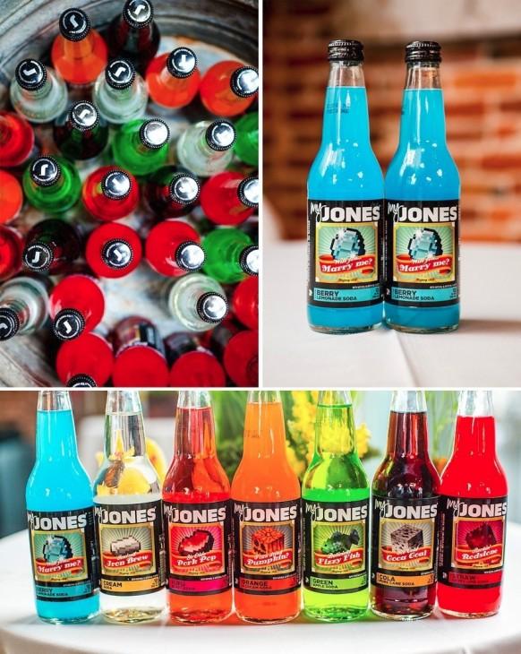 Soda personalizada: http://www.jonessoda.com/